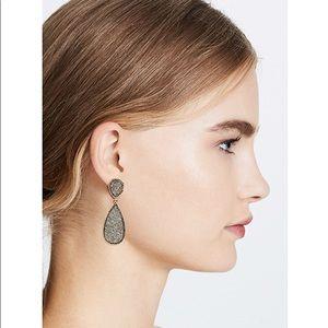 Baublebar Druzy Earrings worn once